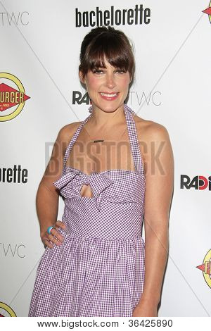 LOS ANGELES - AUG 23: Lindsay Sloane at the premiere of RADiUS-TWC's 'Bachelorette' at ArcLight Cinemas on August 23, 2012 in Los Angeles, California