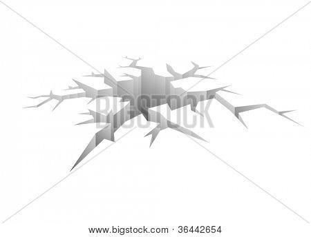 Design Vector Crack