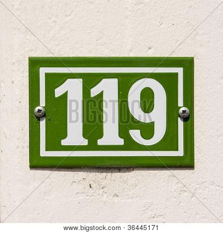 Nr. 119