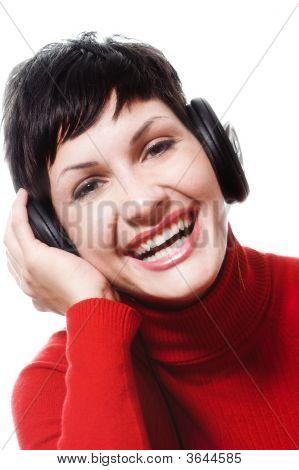 Escuchar música de auriculares
