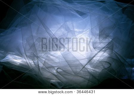 fantasy  tulle background, studio shot
