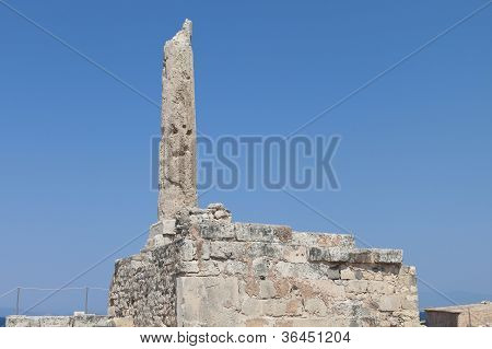 Ancient Aegina in Greece