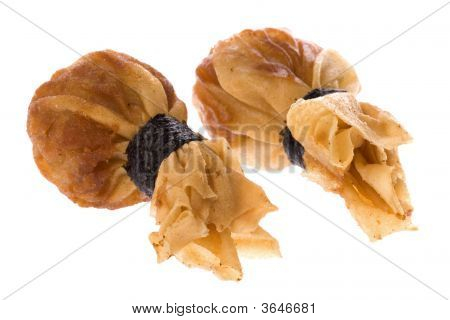 Fried Wantan Isolated