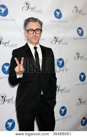 LOS ANGELES - AUG 18:  Alan Cumming arrives at the 17th Annual Angel Awards at Project Angel Food on August 18, 2012 in Los Angeles, CA