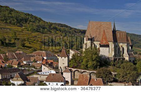 Biertan, Village In Transylvania, Romania