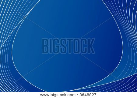 Blue abstract Lines-layout