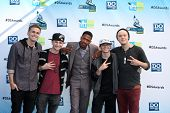LOS ANGELES - AUG 19:  Four Count, with Nick Cannon arrives at the 2012 Do Something Awards at Barke