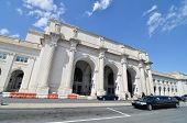 picture of amtrak  - Union Station in Washington DC - JPG