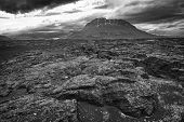 Herdubreid is one of the most beautiful Icelandic volcanos, the