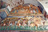 image of suceava  - Byzantine fresco in old christian orthodox church in Romania Patrauti Suceava unknown author end of 15th century - JPG