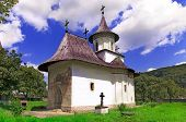 foto of suceava  - Church of christian orthodox monastery in Patrauti Suceava Moldova Romania oldest surviving church built in 1487 during Stephen the Great reign - JPG