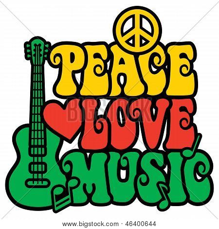 Reggae Peace Love Music