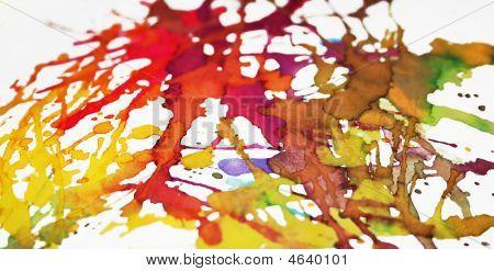 Vibrant Splatters