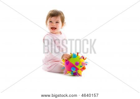 Happy Baby Isolated