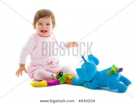 Baby spielen cutout
