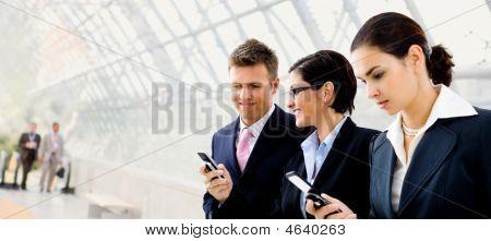 Ondernemers via mobiele telefoon