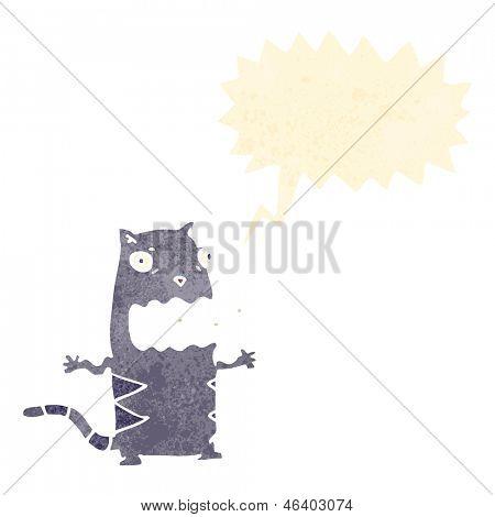 funny burping cat cartoon