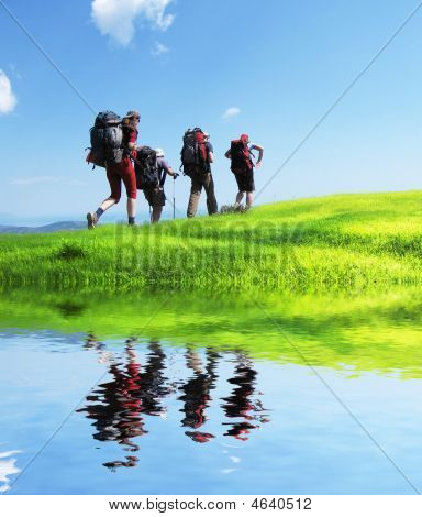Wandern im Sommer