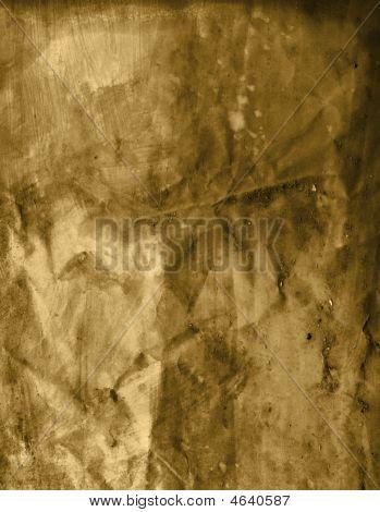 Sepia Crumpled Paper