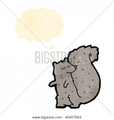 cartoon cute squirrel