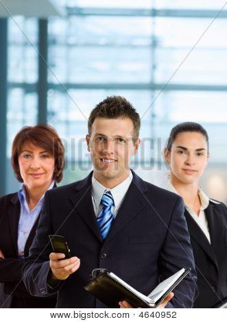 Equipe de empresários