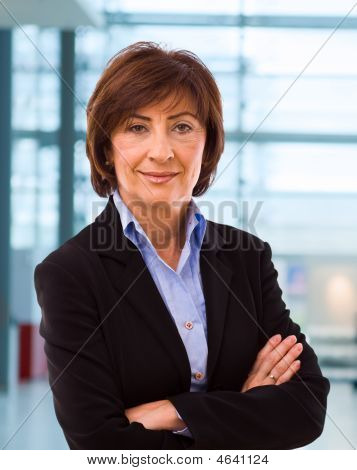 Portrait Of Senior Businesswoman