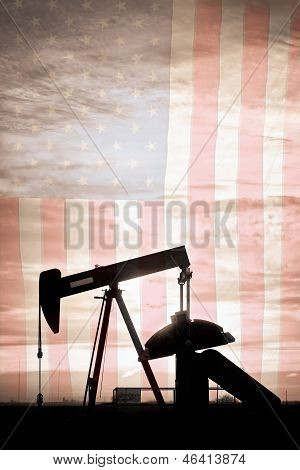 American Oil Well Portrait