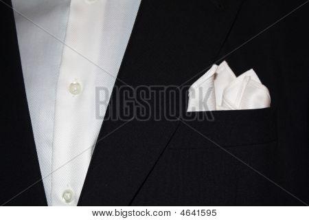 Suit With Handkerchief