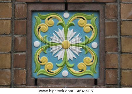 Colored Ceramic Tile