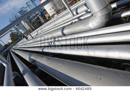 Giant Pipeline Construction