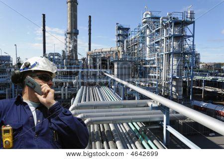 chemische Industrie und Ingenieur