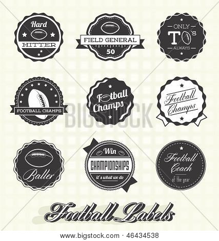 Football Champions Labels