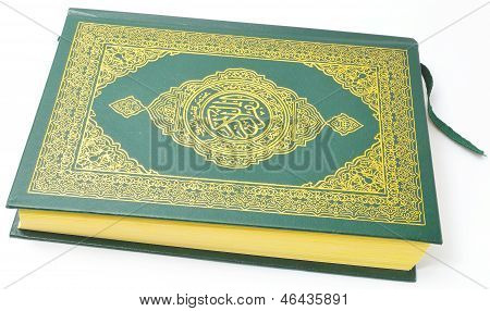 Holy Quran from the side