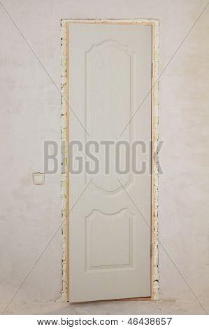 Installing A Door To The Bathroom