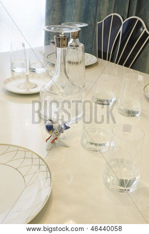 Glass And Ceramic Dishware