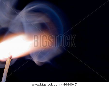 Match Stick Igniting