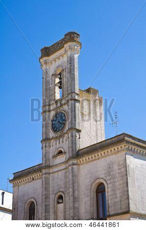 Clocktower. Alessano. Puglia. Italy.