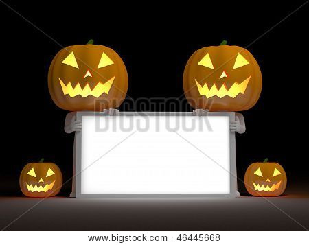Your empty board for halloween