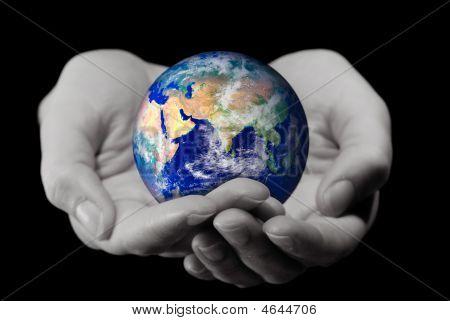 Segurando o mundo