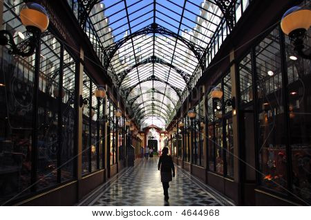 France, Paris: Passage; Typical Way