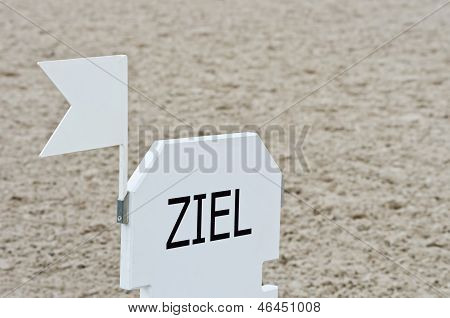 Ziel - German Finish Mark