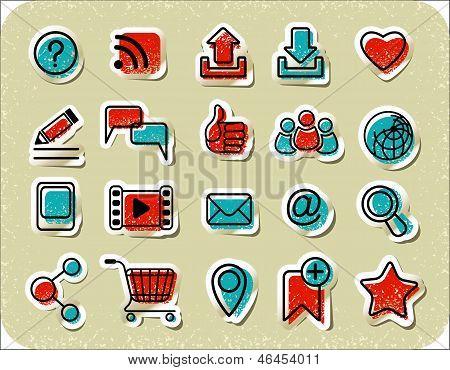 20 Internet Communication Stickers