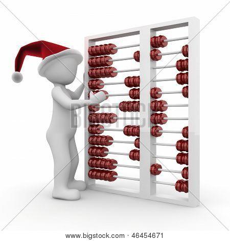 Christmas Abacus
