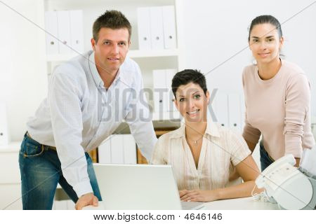 Office Workers Working