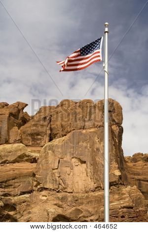 Flag Over Arches