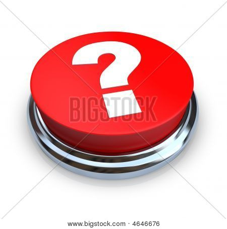 Pregunta marca botón - rojo