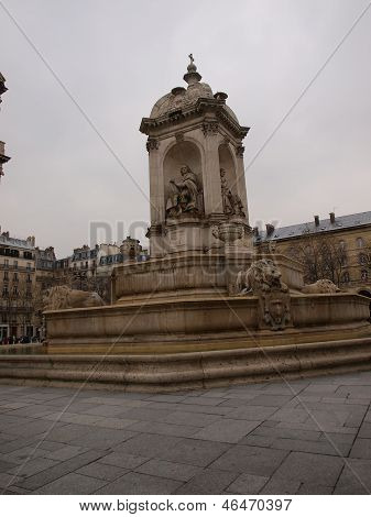 Saints Orators Fountain Place St-sulpice, Paris,