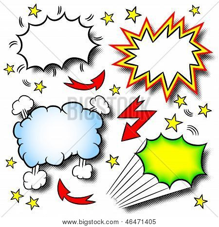 Cartoon Explosions