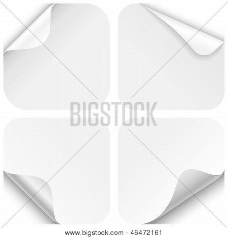 Round Paper Corner Folds