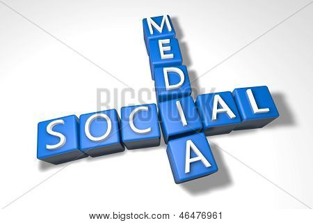 Crossword Social Media
